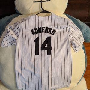 Men's Konkero White Sox jersey